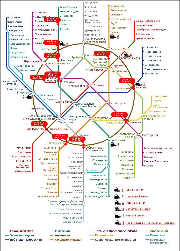 Станция метро домодедова схема